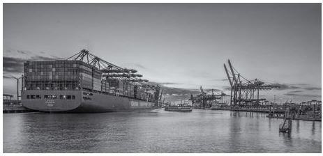 Burchardkai Hamburger Hafen