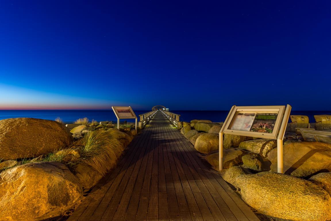 Morgens an der Ostsee Kellenhusen