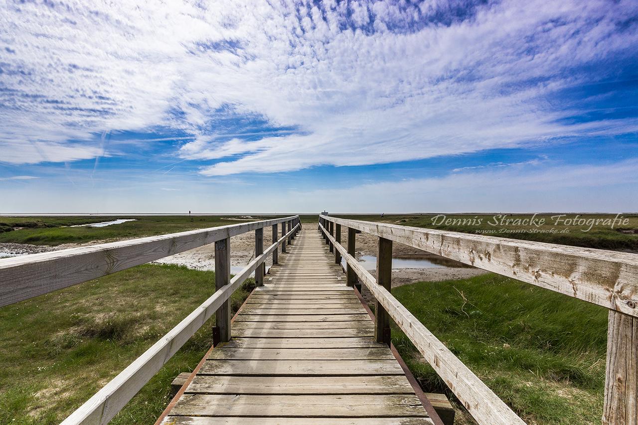 Langer Steg an der Nordsee