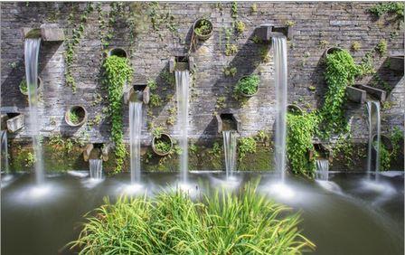 Wasserfälle Planten un Blomen