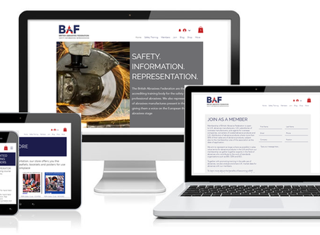 British Abrasives Federation launch new website!