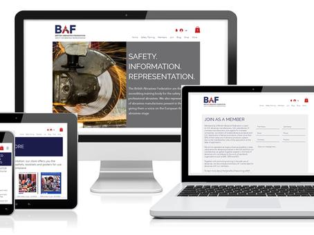 British Abrasives Federation launch new website!