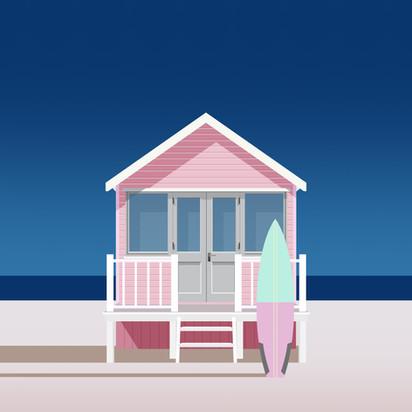 Lifeguard Pink by Clément Dezelus