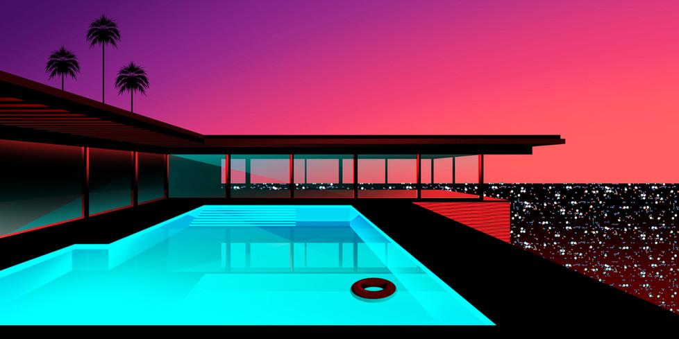 Stahl House by Clément Dezelus