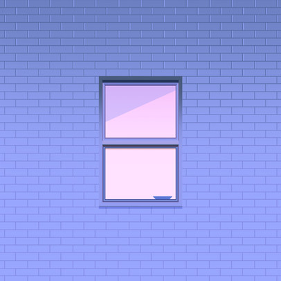 A window in the night by Clément Dezelus