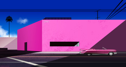Pink Mall by Clément Dezelus