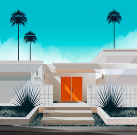 Palm Springs n°2 by Clément Dezelus