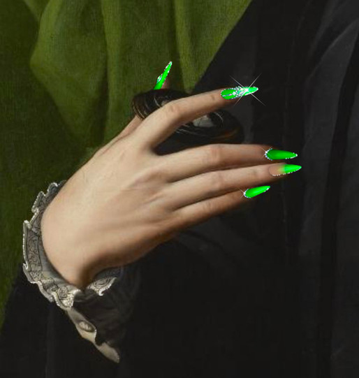 Nail Art N° 9 by Clément Dezelus