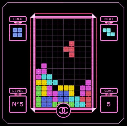 Tetris Chanel by Clément Dezelus