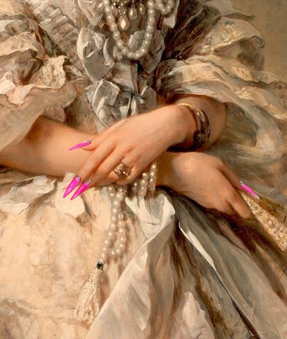 Nail Art N° 7 by Clément Dezelus