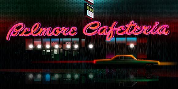 Belmore Cafeteria by Clément Dezelus