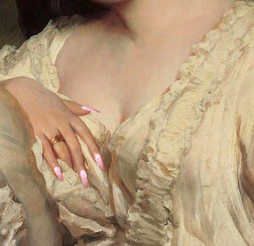 Nail Art N° 11 by Clément Dezelus