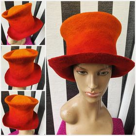 ombre red topper