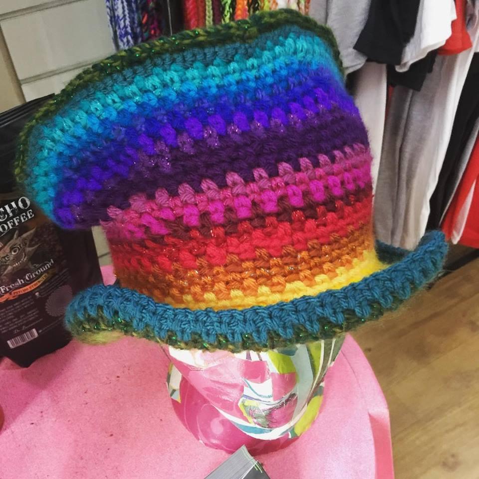 scrap rainbow topper