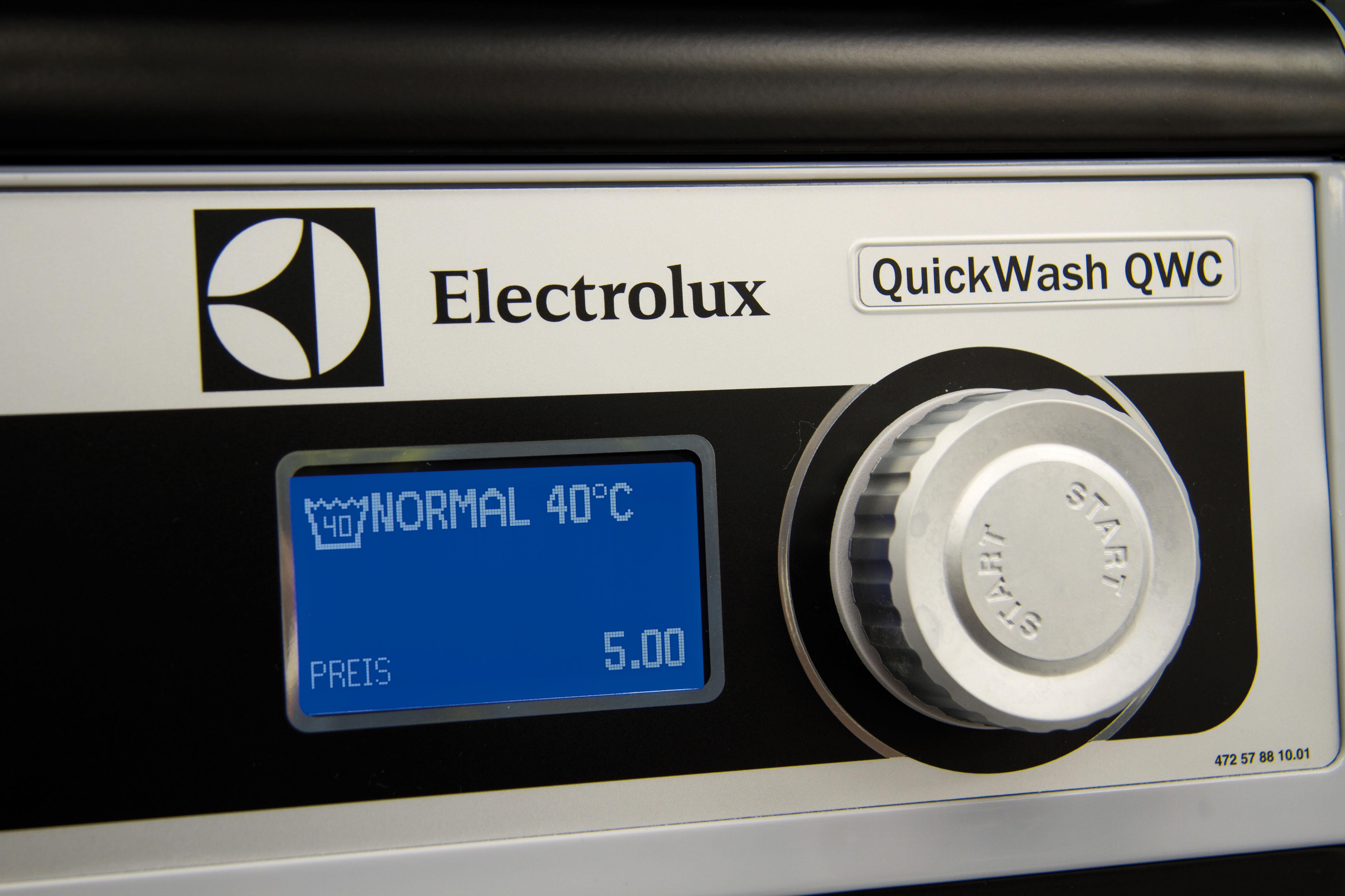 Auswahl der Waschprogramme