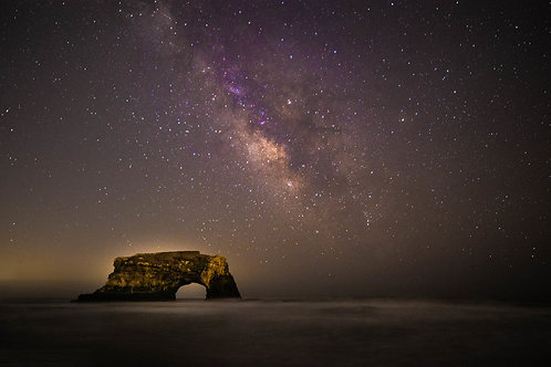 Natural Bridges Milky Way