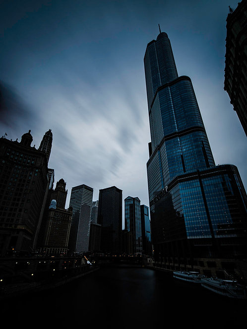 Moody Chicago mornings