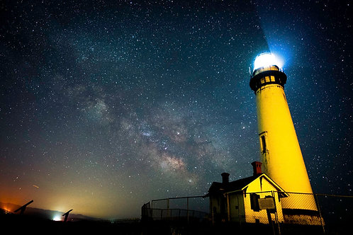 Milky way at Pigeon Point