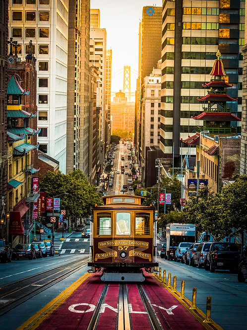 California St Cable Cars