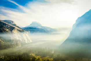 Foggy Meadows Halfdome
