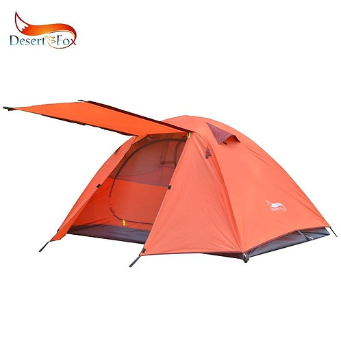 2-3 People Lightweight Camping Tent   Aluminum Poles   Outdoor Travel   Backpa