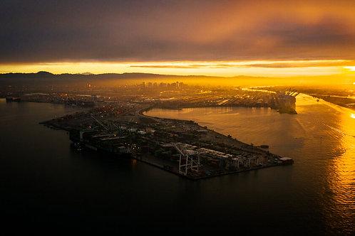 Sunrise over the Port