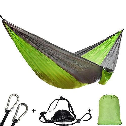 Single Double Hammock Adult Outdoor Backpacking Travel Survival Hunting Sleepi