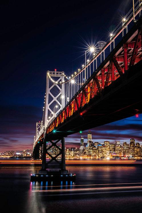 Bay Bridge Light Trails