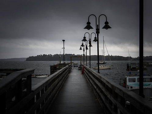 Moody Mornings on the Pier