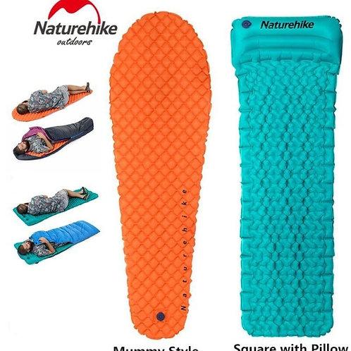 Naturehike Outdoor Camping Inflatable Tent Mat Mummy Pads Lightweight Air Matt