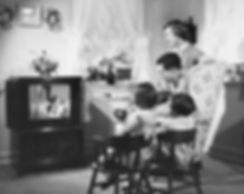 TV - old time family watching 2.JPG