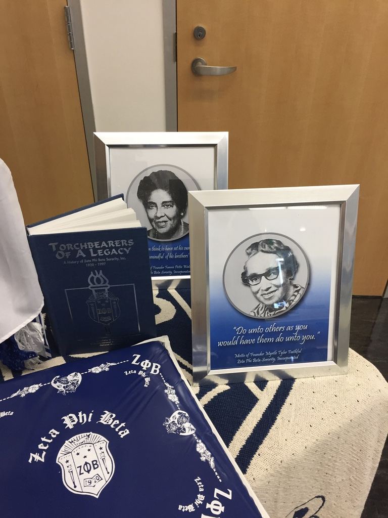 Display Table Honoring Our Founders