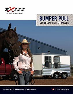 Exiss Horse Bumper Pulls