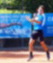 nathan de carli, promessa del tennis ticinese