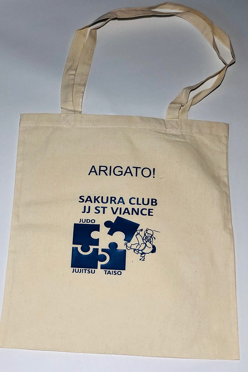 Tote bag Sakura club