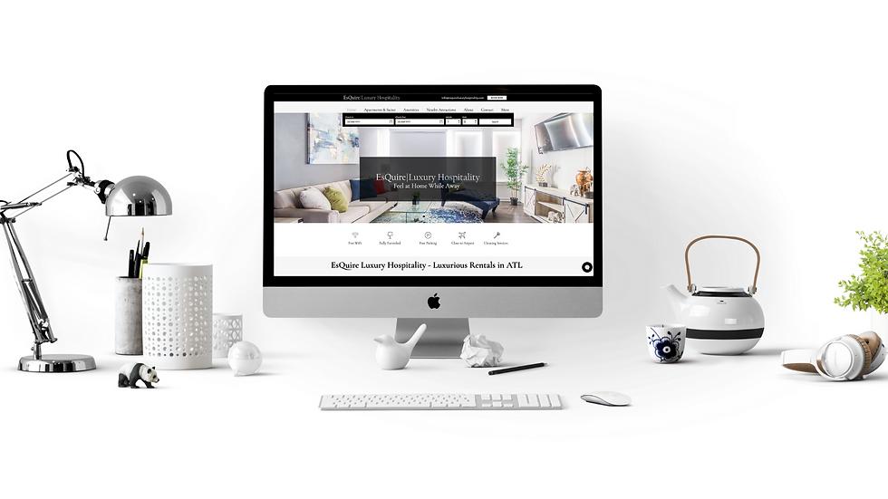 Starter Website Design Package & Logo Design