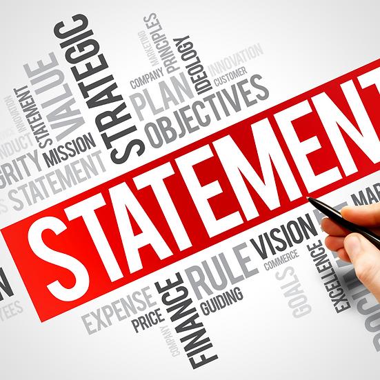 Mission Statement & Brand Story