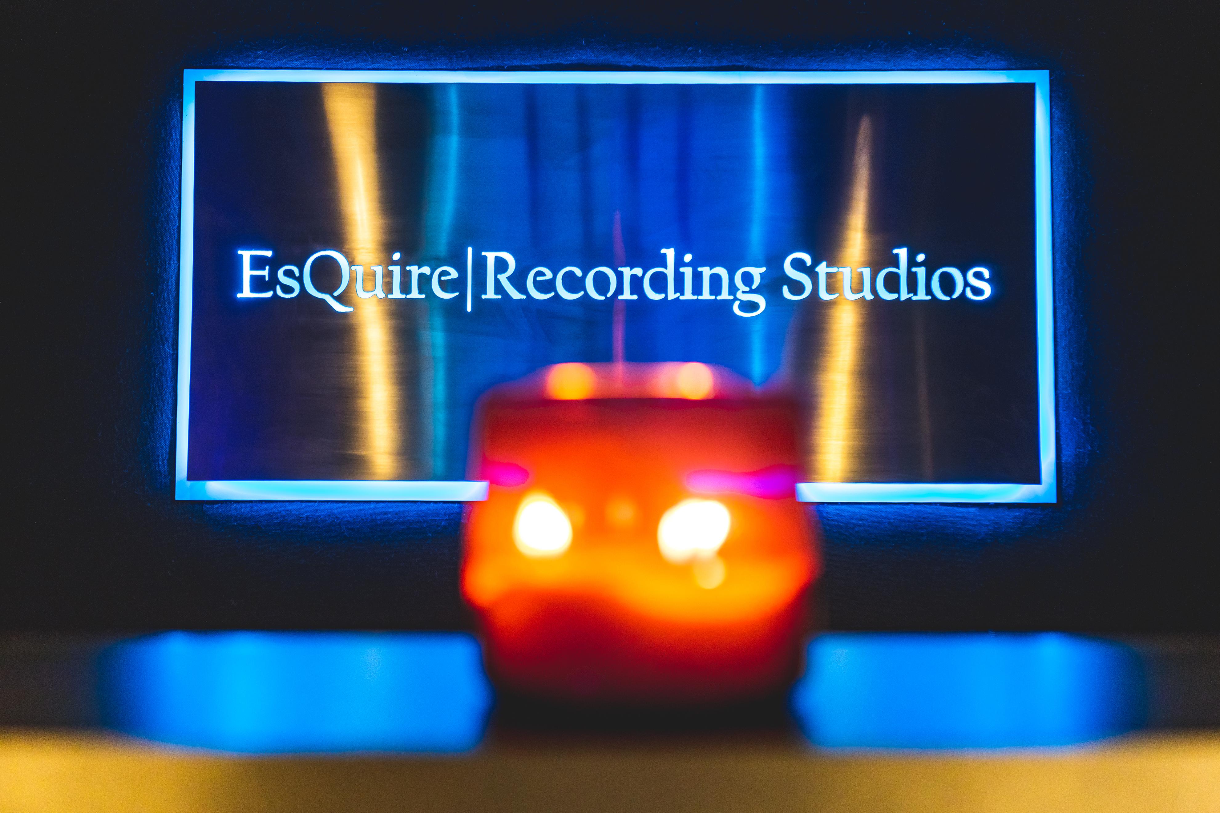 EsQuire Recording Studios Custom Sign