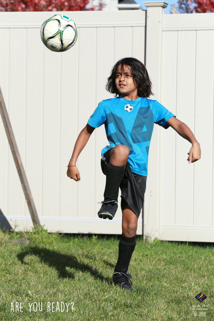 Vikram_Getting Ready for Soccer_Playing