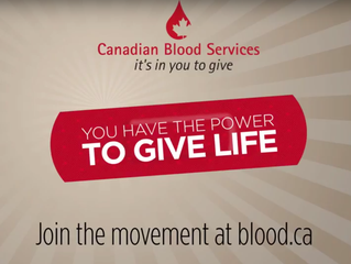 Power To Give Life - Canadian Blood Services