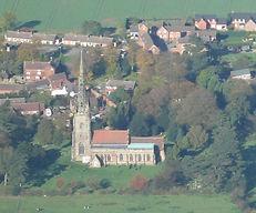 Church from air