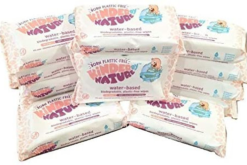 Kinder by nature unscented baby wipes