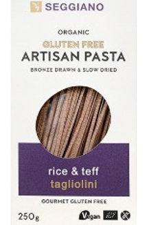 Seggiano Gluten Free Pasta • Rice & Teff Tagliolini