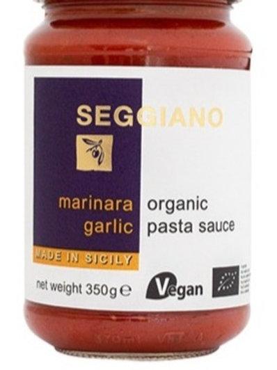 Seggiano Pasta Sauce - Marinara Garlic