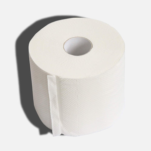 100% recycled toilet roll x4