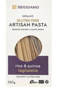 Seggiano Gluten Free Pasta • Rice & Quinoa Tagliatelle
