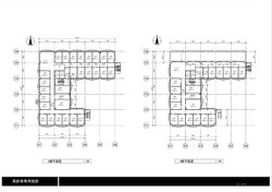3・4階平面図