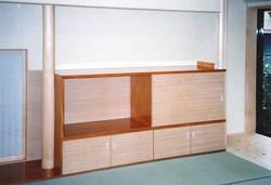 居間-テレビ収納