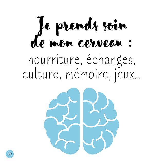 Notre cerveau 🧠 est sacrément utile à notre santé, notre mémoire, à nos pensées et pour prendre de bonnes décisions ! L'entretenir est donc vital. Nourriture adaptée, lecture, exercices de mémorisation, activités créatives, sportives… tout est bon pour le stimuler 😊.