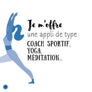 """Difficile parfois de s'autodiscipliner pour mettre notre corps en mouvement. L'une des solutions est d'utiliser une application mobile de type coaching. Et de se laisser guider. Pour trouver ces applications (dont certaines sont gratuites comme celle de Decathlon), faites une recherche avec le mot """"coaching"""" 👍"""